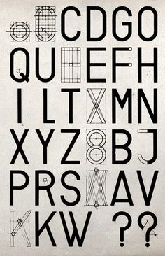 Bauhaus searches for universal font