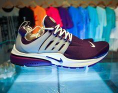 wedding sneakers? probably not. but the air presto is classic!!! #nike #sneaker #purple