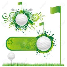 golf clip art borders golf vector 6 golf vector 6 golf vector 2 rh pinterest com Free Golf Graphics Free Clip Art Borders