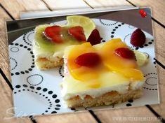 Hrnčekové recepty: Svieži tvarohový zákusok so želatinou. Cheesecake, Pudding, Food, Kitchen, Cooking, Meal, Cheesecakes, Custard Pudding, Essen