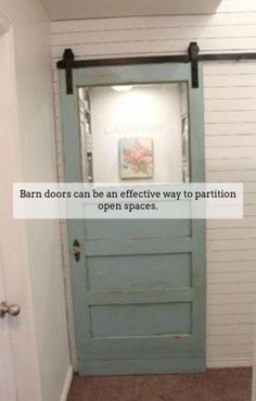 Best Home Interior Country Barn Doors 28 Ideas Barn Door In House, Diy Barn Door, Sliding Barn Door Hardware, Sliding Doors, Interior Doors For Sale, Interior Barn Doors, Home Interior, Interior Design, Exterior Doors