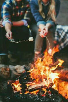 I want to rent a cabin with friends and family and just drink and chill and eat s'mores and have a great time.