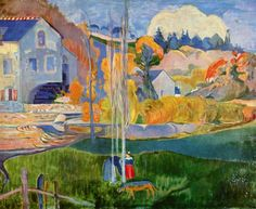 Paul Gauguin, El molino de David