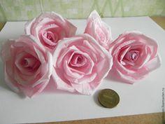 Купить Цветы искусственные - разноцветный, цветы из ткани, Декор, декор для интерьера, свадебные украшения, топиарий Rose, Flowers, Plants, Pink, Roses, Florals, Plant, Flower, Bloemen