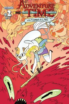 'Adventure Time With Fionna & Cake' #2 Covers Deliver More Gender-Swapped Fun [Preview] - ComicsAlliance | Comic book culture, news, humor, commentary, and reviews
