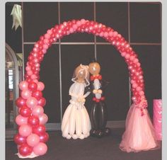 Balloon Arch.  #balloon arch #balloon-arch #balloon decor #balloon-decor