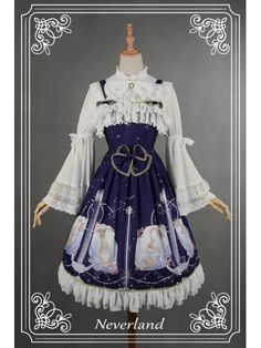 *Neverland* ~Aquarius~ JSK Lolita Long Dress #LolitaDress #Lolita
