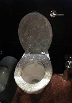1000 Images About UNIQUE TOILET SEATS On Pinterest  Photo Gold Glitter Toilet Seat 25 Best Ideas