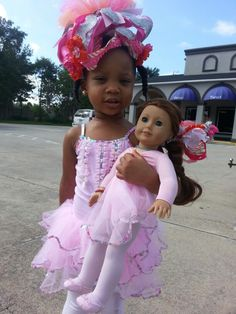 American Girl Doll's Saige enjoys first day of Ballet, Tap and Baton.
