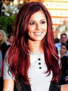 Beautiful Red Auburn Hair Color