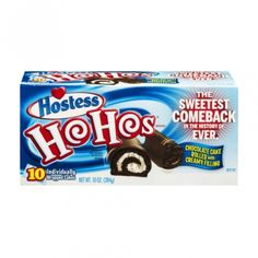 Hostess Ho Hos 10 OZ (284g)