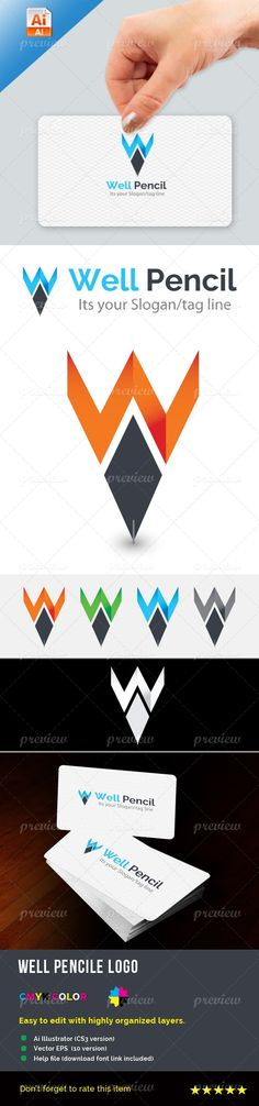 Well Pencil Logo