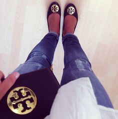 I need Tory Burch flats...at some point in my life when I can afford them...