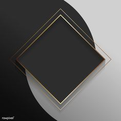 Gold And Black Background, Black Background Wallpaper, Luxury Background, Poster Background Design, Framed Wallpaper, Logo Background, Background Pictures, Background Patterns, Textured Background