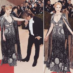 in from the Red Carpet of Keith Urban, Nicole Kidman, Fit S, Alexander Mcqueen, Red Carpet, Sequin Skirt, Couples, Instagram Posts, Skirts