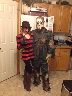 Trendy Couple Costumes for Halloween to Nail the Event Hallowen Costume, Halloween Kostüm, Halloween Outfits, Google Halloween, Halloween Makeup, Costume Ideas, Halloween Couples, Halloween Recipe, Cosplay Ideas