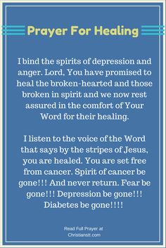 When you need healing, pray Bible Verses back to God. When we come into agreement with what God has already said and trust Him to do as He has said He will do, we know we are within God's will. Healing Scriptures, Healing Words, Prayers For Healing, Prayer Scriptures, Bible Prayers, Faith Prayer, Prayer Quotes, My Prayer, Healing Prayer