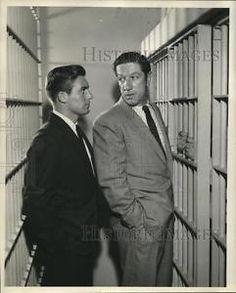1957 Press Photo Joe Di Reda, Richard Boone on Climax!: To Walk the Night CBS | eBay