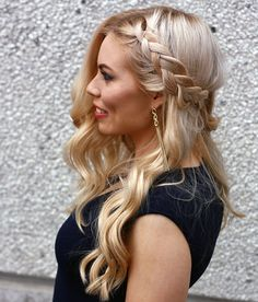 Braided hairdo for a party // Kia Karin blog