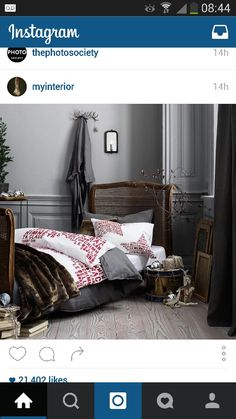 Another grey bedroom