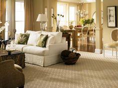 Neutral Living Room With White Sofa - SOFA <3