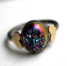 drusy and hearts!