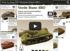 Color modulation is another technique a la page: in this video tutorial we see how to use one of the many dedicated sets, to paint the green of Russian AFV.