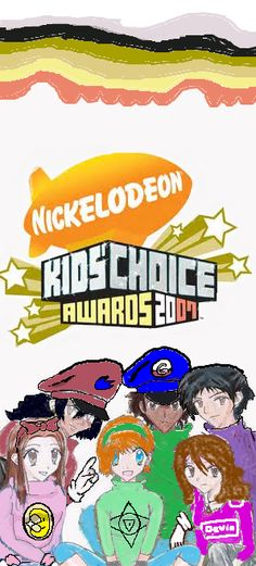 Nickelodeon Kids Choice Awards 2007 Logo part 3
