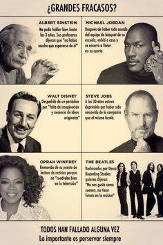 ¿Grandes fracasos?