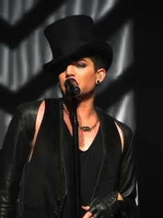 Adam Lambert - OMG! That cocked-hat look is HOT!