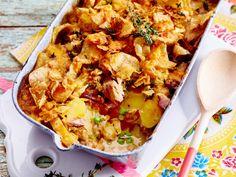 Kartoffelauflauf mit Thunfisch Rezept | LECKER