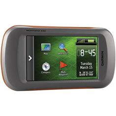 Garmin Montana 600 Waterproof Hiking GPS - Garmin is one of the very first companies that started to market portable GPS systems for navig. Can Am Commander, Atv Accessories, Gps Navigation, Outlander, Outdoor Gear, Montana, Hiking, Electronics, Learning