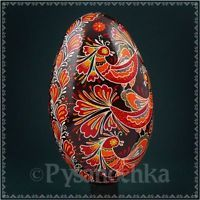 Real Ukrainian Pysanka Goose Pysanky Best by Halyna, Easter Egg High Quality