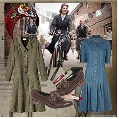 wardrobe call the midwife - Google Search