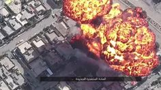 LiveLeak.com - Drone View Of New ISIS Car Bombs In The Battle For Mosul