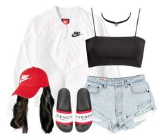 Nike Tech by oh-aurora on Polyvore featuring polyvore fashion style H&M NIKE…