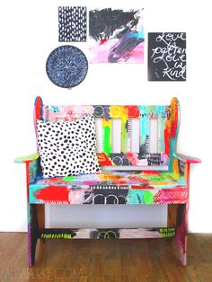 messy bench - everyone needs one