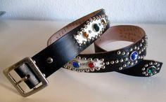 Repro Western Rockabilly 50's Belt. Classic design de CanyoneroBelts en Etsy