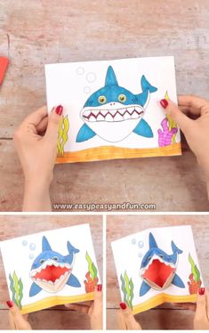 Animal Crafts For Kids, Craft Activities For Kids, Preschool Crafts, Diy For Kids, Diy Crafts Hacks, Diy Crafts For Gifts, Fun Crafts, Paper Crafts Origami, Paper Crafts For Kids
