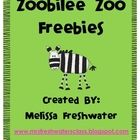 There are four different zoo related freebies in this super mini pack.    Bear Necessities: Students can play this alone or with a small group. Pri...