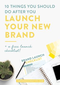 You've hired the designer. Spent hours honing in on your vision and  collecting inspiration. You've established your target audience and set up  a game plan on how your new brand voice will attract them.  Then it's launch day. Now what?  So many people take all the right steps in the launch pr