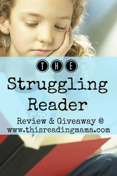 The Struggling Reader- Review and Giveaway | This Reading Mama valued you at 599 Dollars, enter today!