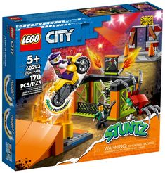 Lego City, Stunts, Nerf, Construction, Toys, Building, Activity Toys, Waterfalls, Clearance Toys