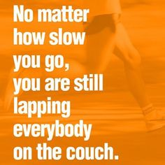 Thanks for reminding me of this when I was whining about how I get lapped when I'm walking @Sara Eriksson Casto
