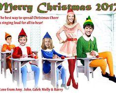 Buddy the Elf Christmas Card, family Christmas card, elf movie spoof Christmas… Christmas Adam, Funny Family Christmas Cards, Corporate Christmas Cards, Merry Christmas 2017, Family Christmas Pictures, Funny Xmas, Christmas Photo Cards, Christmas Elf, Xmas Cards