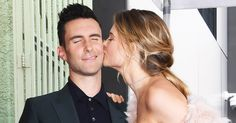 Adam Levine and his wife, Behati Prinsloo, brought their 4-month-old daughter, Dusty Rose, to the singer's Hollywood Walk of Fame ceremony — see the pics!