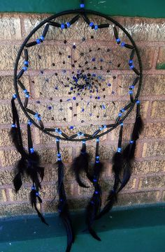 Dream Catcher Onyx and Lapis Lazuli, via Flickr.