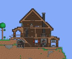 video game username ideas / game username ideas , username ideas for game , video game username ideas Terraria House Design, Terraria House Ideas, Minecraft Houses Survival, Minecraft Videos, Cool Items, Traditional House, Willis Tower, Building A House, Video Games