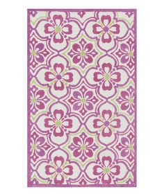 Look what I found on zulily-Exclusive Purple & Green Zoey Rug by Loloi Rugs Birthday Flower Delivery, Purple Area Rugs, Pink Zebra, Contemporary Rugs, Contemporary Furniture, Little Girl Rooms, Ecommerce, Handmade, Green