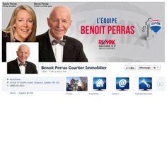 Facebook de L'équipe Benoît Perras #REMAX #Facebook #courtier #immobilier